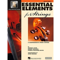 Essential Elements for Strings Cello Book 1 with EEi