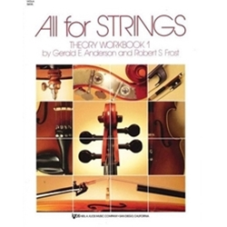 All for Strings (Viola, Workbook 1)