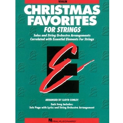 Christmas Favorites for Strings (Violin)