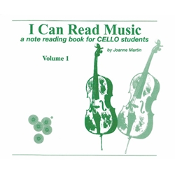 I Can Read Music for Cello (Vol. 1)