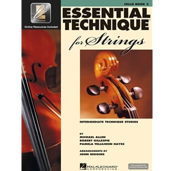 Essential Technique for Strings: Cello (Book 3)