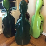 Fiberglass Cello Case