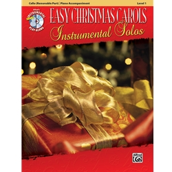 Easy Christmas Carols for Cello (Level 1) with Piano Accompaniment