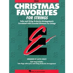 Christmas Favorites for Strings (Cello)