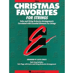 Christmas Favorites for Strings (Viola)