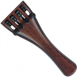 4/4 Wittner Violin Tailpiece with Adjusters (Rosewood Effect)