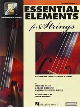 Essential Elements for Strings  Violin Book 1 with EEi