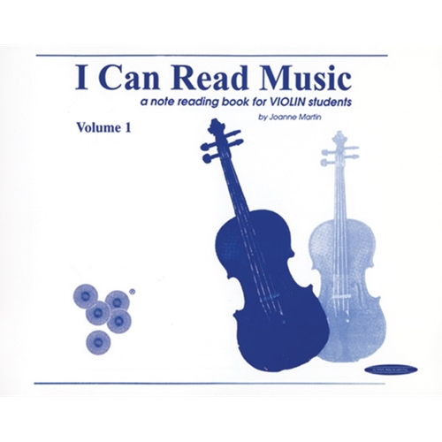 I Can Read Music for Violin (Vol. 1)