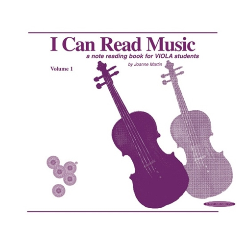 I Can Read Music for Viola (Vol. 1)