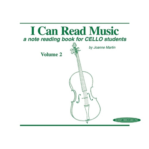I Can Read Music for Cello (Vol. 2)