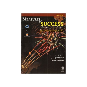 Measures of Success for String Orchestra: Viola, Book 1