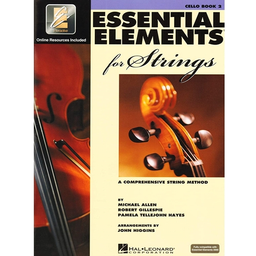 Essential Elements for Strings: Cello (Book 2)