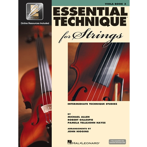 Essential Technique for Strings: Viola (Book 3)